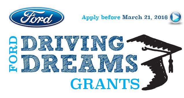 Ford Driving Dreams Grants