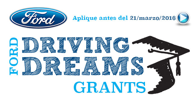 Becas Ford Driving Dreams