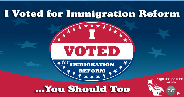 I Voted for CIR