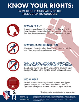 What to Do if Immigration or the Police Stop You Outdoors