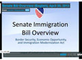 Senate Bill Overview (English)