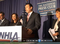 NHLA Press Conference on Enrollment Campaign for National Hispanic Health Week of Action