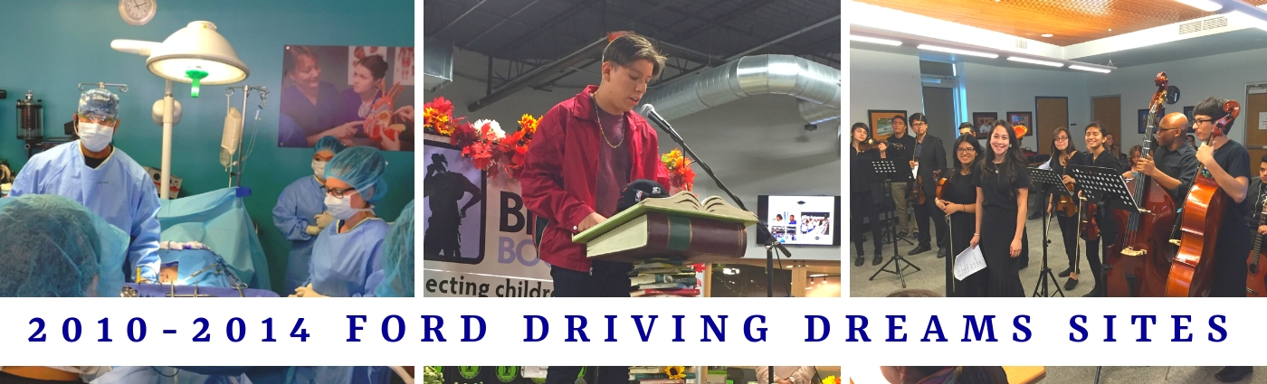 2010-2014 Ford Driving Dreams Grantees