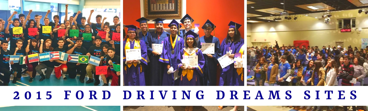 2015 Ford Driving Dreams Through Education Grantees