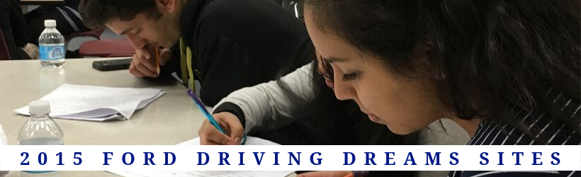 2015 Ford Driving Dreams Grantees