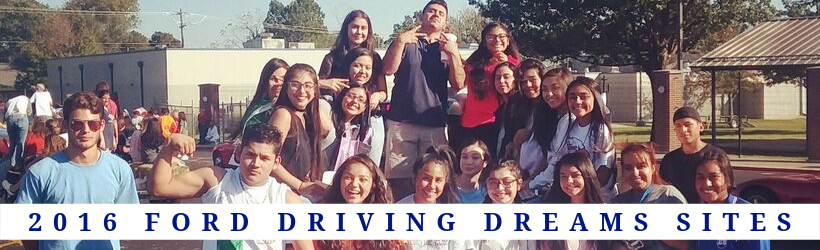 2016 Ford Driving Dreams Grantees