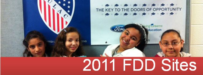2011 Ford Driving Dreams Through Education Grantees